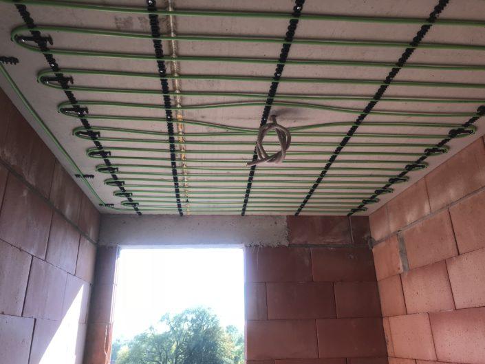 Plafondverwarming